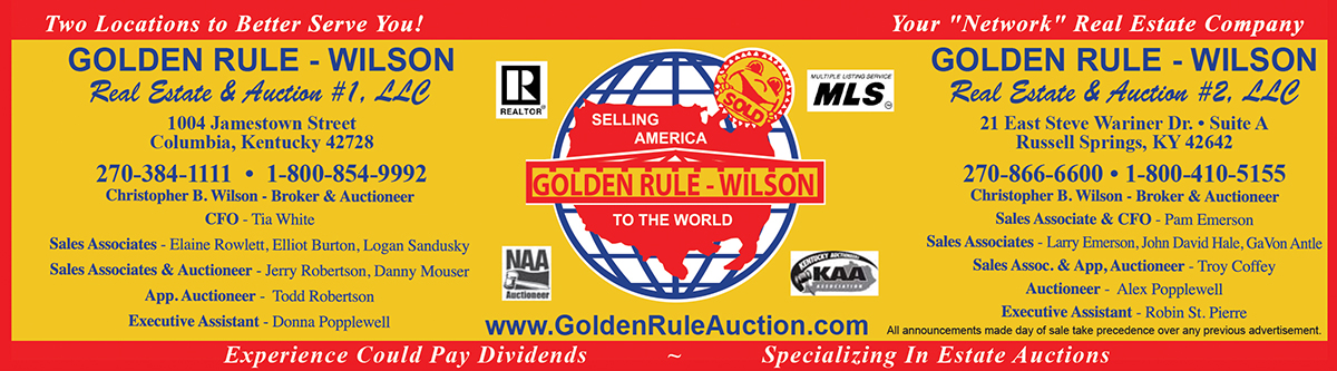 picture relating to Golden Rule Printable called Golden Rule-Wilson Auction Realty